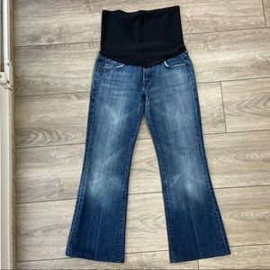 7 For All Mankind Bootcut Flare Maternity Jeans